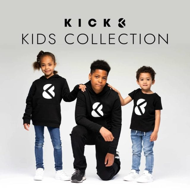Good news! 🎱 our brand new kick8 kids collection is available only on our website! ❣ Kick8.com 🌐 #markyourtime #madeinbelgium #kidsfashion #futur #kick8 #brandnew #streetwear #certifiedquality